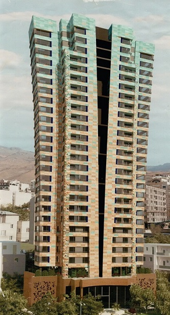 Mehrafarin tower, Velenjak .Tehran