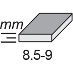 Jasmin 20×20-standard