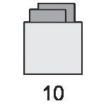 کوبیسم 5X5-standard